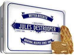 Koekjes Jules Destrooper natuurboterwafels blik 350gr.