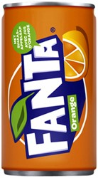 Frisdrank Fanta Orange blikje 0.15l