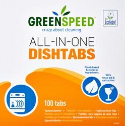 Vaatwastabletten Greenspeed All In One