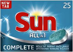 Vaatwastabletten Sun All-in-one 26 stuks