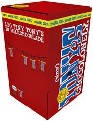 Chocolade Tiny Tony's Chocolonely 100 stuks melk