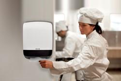 Dispenser Katrin 90182 vouwhanddoekken Mini wit