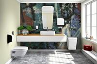 Dispenser Katrin 104582 toiletpapier doprol wit-2