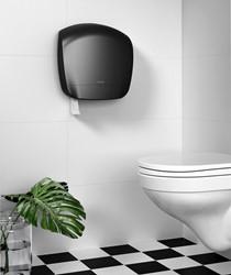 Dispenser Katrin 92162 toiletpapier Gigant L zwart