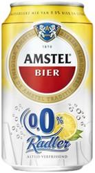Bier Amstel Radler 0.0 blikje 0.33l