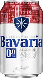 Bier Bavaria 0.0 blikje 0.33l