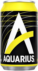 Frisdrank Aquarius Lemon blikje 0.33l