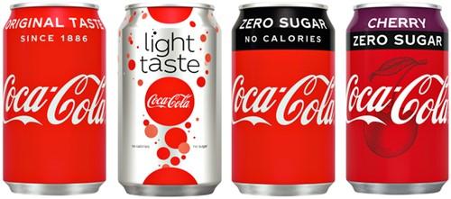 Frisdrank Coca Cola Regular blikje 0.33l-2
