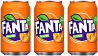 Frisdrank Fanta Orange blikje 0.33l-3