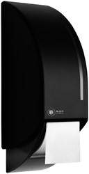 Dispenser BlackSatino voor systeemrol toiletpapier