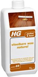Vloerreiniger HG voor houten vloeren met was 1l
