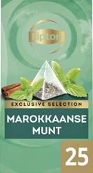 Thee Lipton Exclusive Marokkaanse Munt 25 piramidezakjes