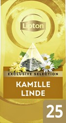 Thee Lipton Exclusive Kamille Linde 25 piramidezakjes