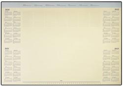 Onderlegblok 2021 Deskmate met PVC houder 41x59cm