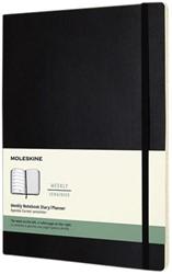 Agenda 2022 Moleskine 12mnd XL soft zwart