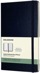 Agenda 2022 Moleskine 12mnd large hard blauw