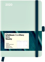 Agenda 2020 teNeues Cool Diary Greeny Mint blad 16x22cm