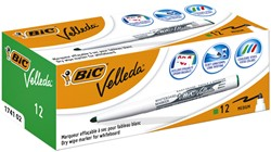 Viltstift Bic 1741 whiteboard rond groen 1.4mm