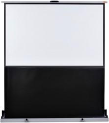 Projectiescherm Nobo draagbaar 160x100cm vloermodel