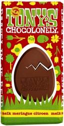 Chocolade Tony's Chocolonely paasreep melk met meringue 180gr