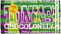 Chocolade Tony's Chocolonely reep 180gr melk honeycomb tijm