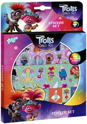 Stickerset Totum Trolls 2 World Tour