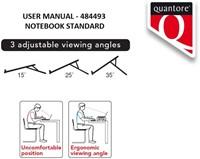 Laptopstandaard Quantore antraciet-2