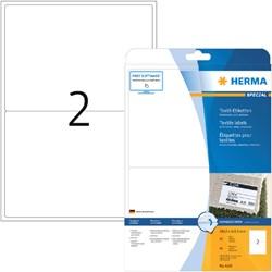 Etiket Herma 4519 199.6x143.5mm acetaatzijde wit