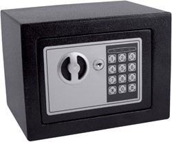 Kluis Pavo mini 230x170x170mm elektronisch zwart