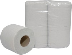 Toiletpapier Budget 2laags 200vel 12x4rollen