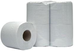 Toiletpapier Budget 2laags 400vel 10x4rollen