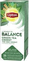 Thee Lipton Balance Groene thee Oriënt 25stuks