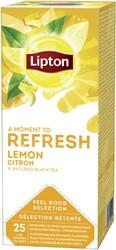 Thee Lipton Refresh Citroen 25stuks