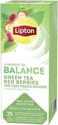 Thee Lipton Balance Rood Fruit 25stuks