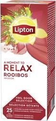 Thee Lipton Relax Rooibos 25stuks