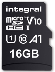 Geheugenkaart Integral Micro SDHC V10 16GB