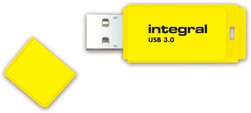 USB-stick 2.0 Integral 16Gb neon geel-3