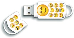 USB-Stick 2.0 Integral Xpression 16GB Emoji