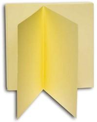 Dubbele kaarten Papyrus 130x130mm ivoorwit