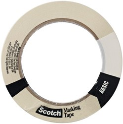 Afplaktape Scotch Basic 18mmx50m
