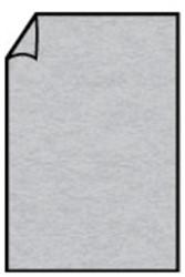 Correspondentiekaart 85x128mm zilver