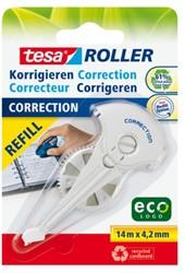 Correctierollervulling Tesa Eco 4.2mm op blister