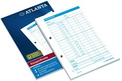 Kasspecificatie Atlanta A6 100vel