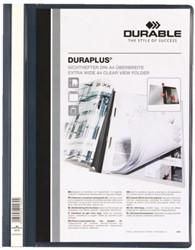 Snelhechtamp Durable Duraplus A4 donkerblauw