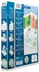 Presentatieringband Elba Polyvision Maxi A4 XL 4-rings D-mech 20mm transparant