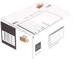 Postpakketbox 2 CleverPack 200x140x80mm wit 25stuks
