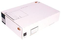 Postpakketbox 5 CleverPack 430x300x90mm wit 25stuks