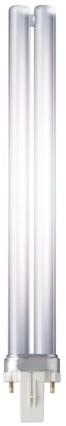 Spaarlamp Philips Master PL-S 2P 9W 600 Lumen 830 warm wit-2