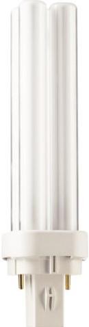 Spaarlamp Philips Master PL-C 2P 13W 900 Lumen 830 warm wit-2