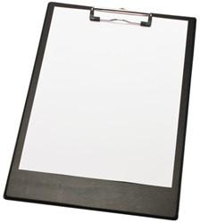 Klembord LPC A4/folio met 2 magneten zwart